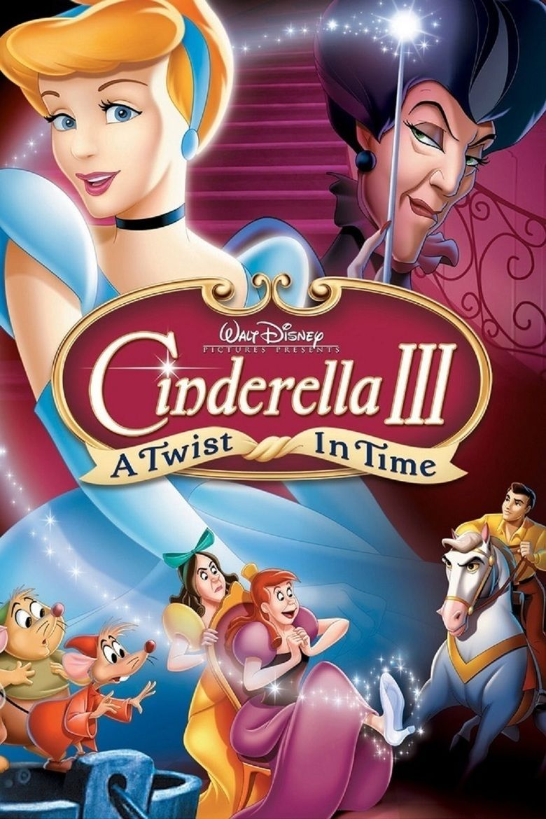 Cinderella III: A Twist in Time movie poster