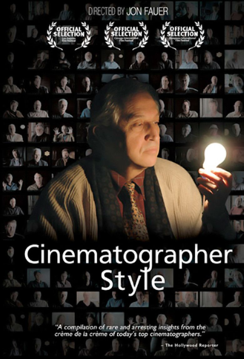 Cinematographer Style movie poster