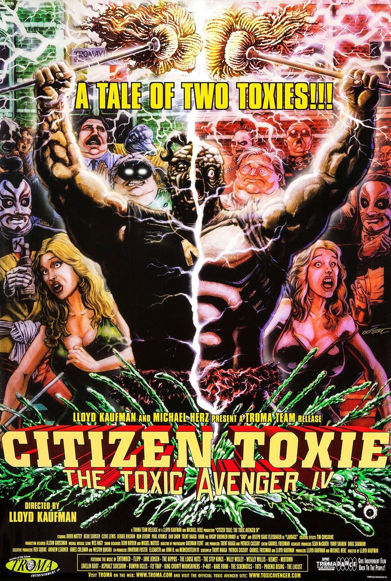 Citizen Toxie: The Toxic Avenger IV movie poster