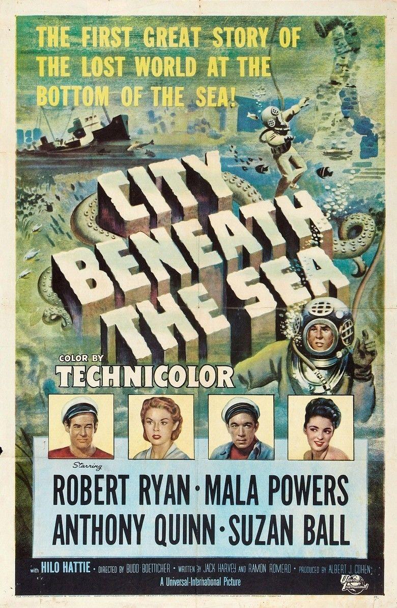 City Beneath the Sea (1953 film) movie poster