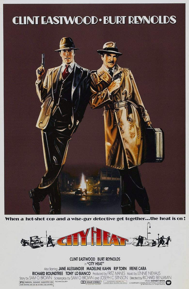 City Heat movie poster