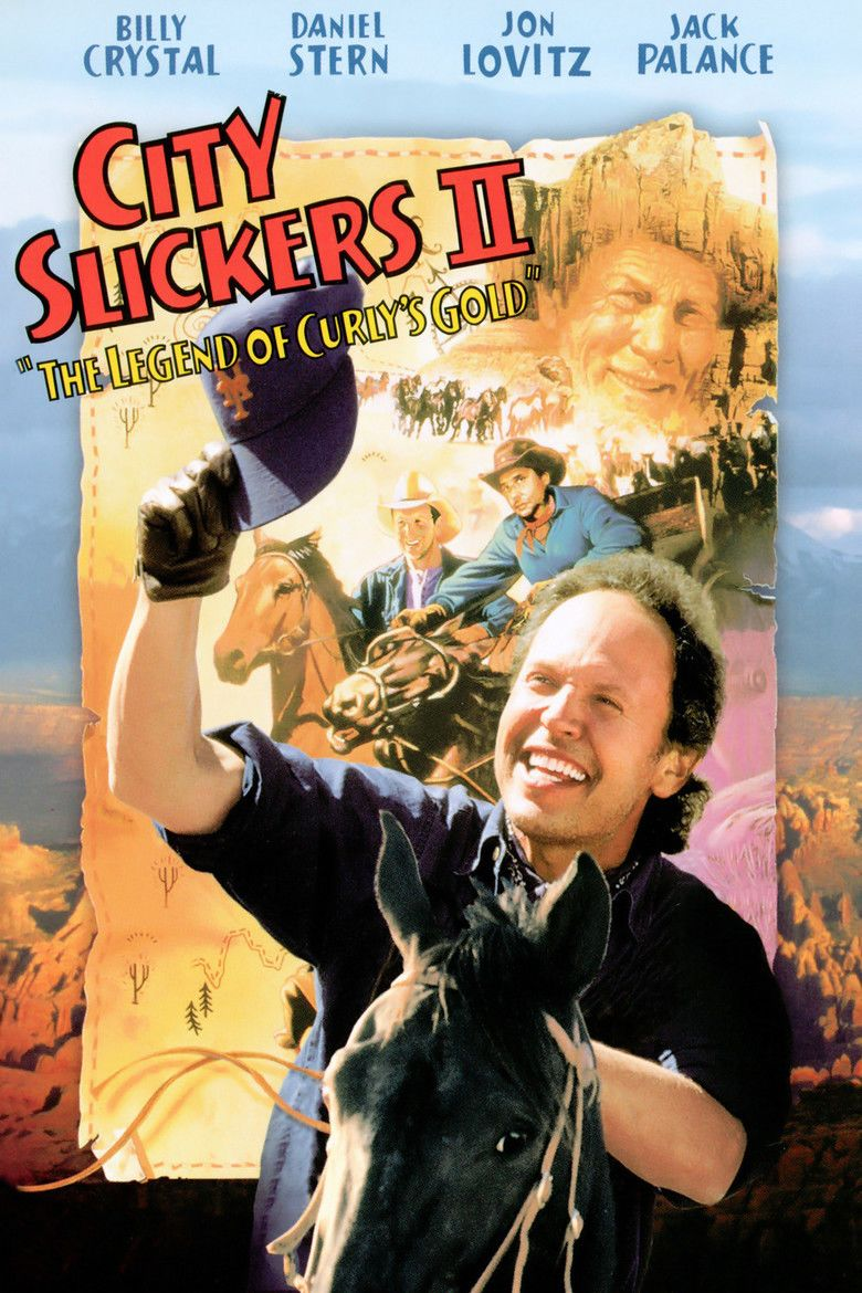 City Slickers II: The Legend of Curlys Gold movie poster