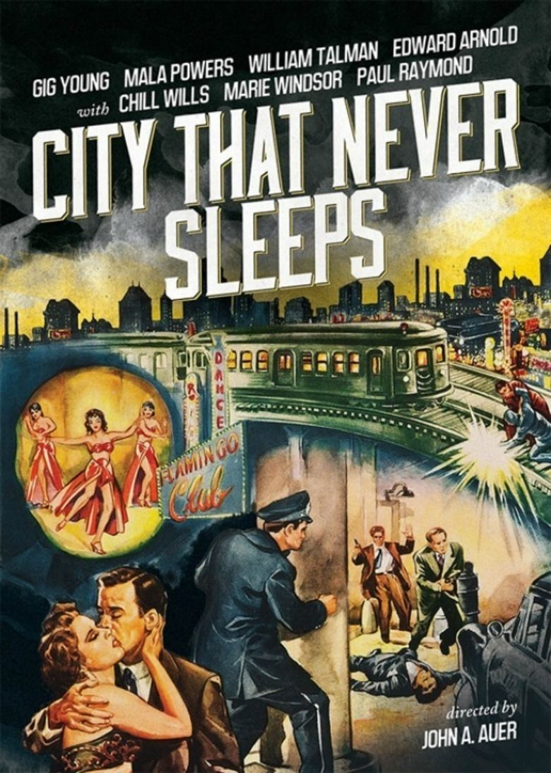 City That Never Sleeps movie poster