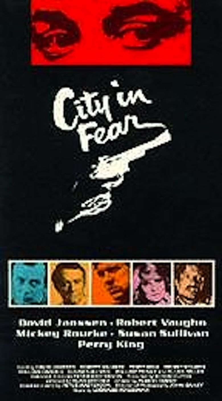 City in Fear movie poster