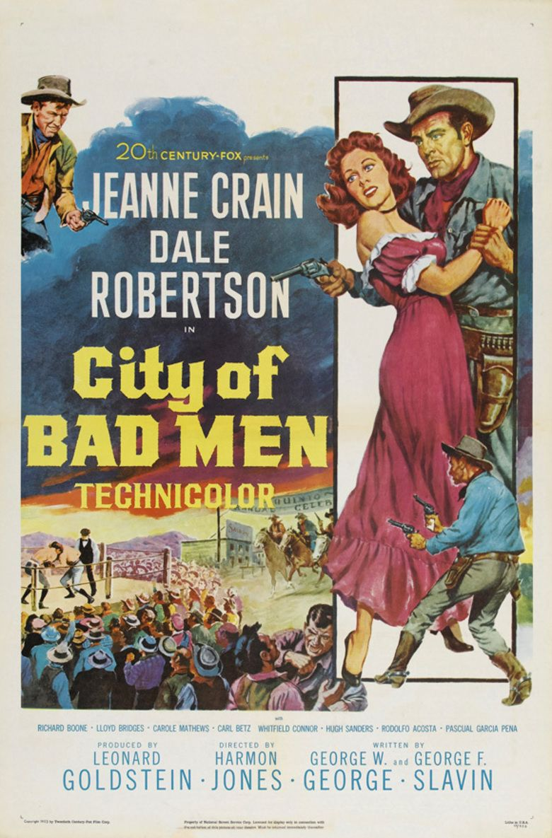 City of Bad Men movie poster