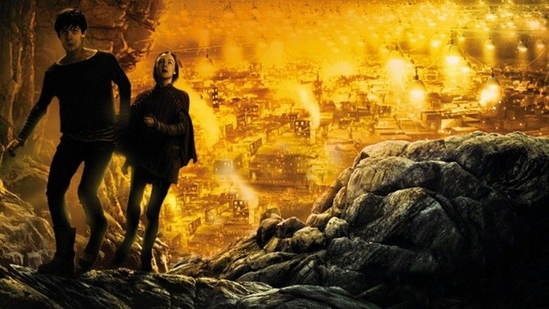 City of Ember movie scenes