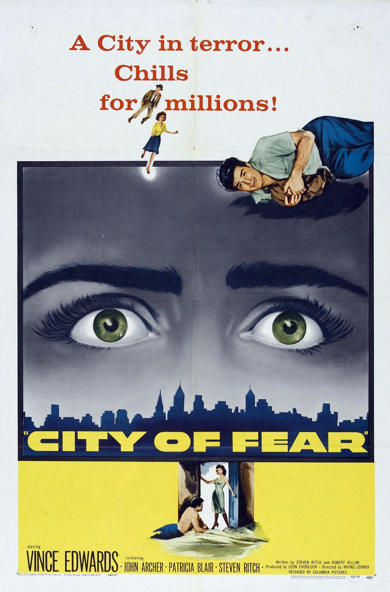 City of Fear (film) movie poster