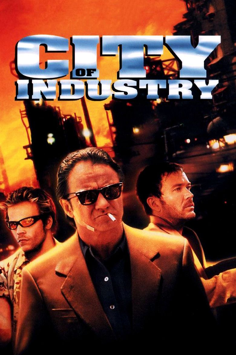 City of Industry (film) movie poster
