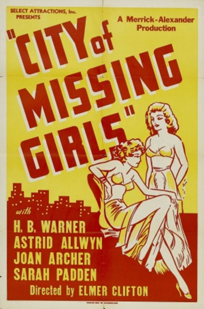 City of Missing Girls movie poster