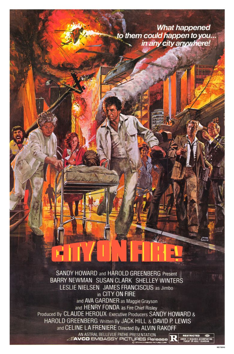 City on Fire (1979 film) movie poster