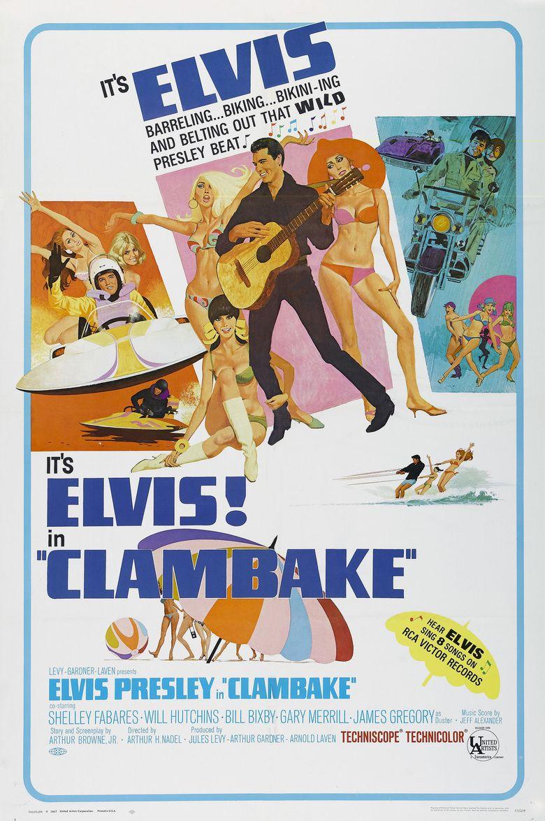 Clambake movie poster