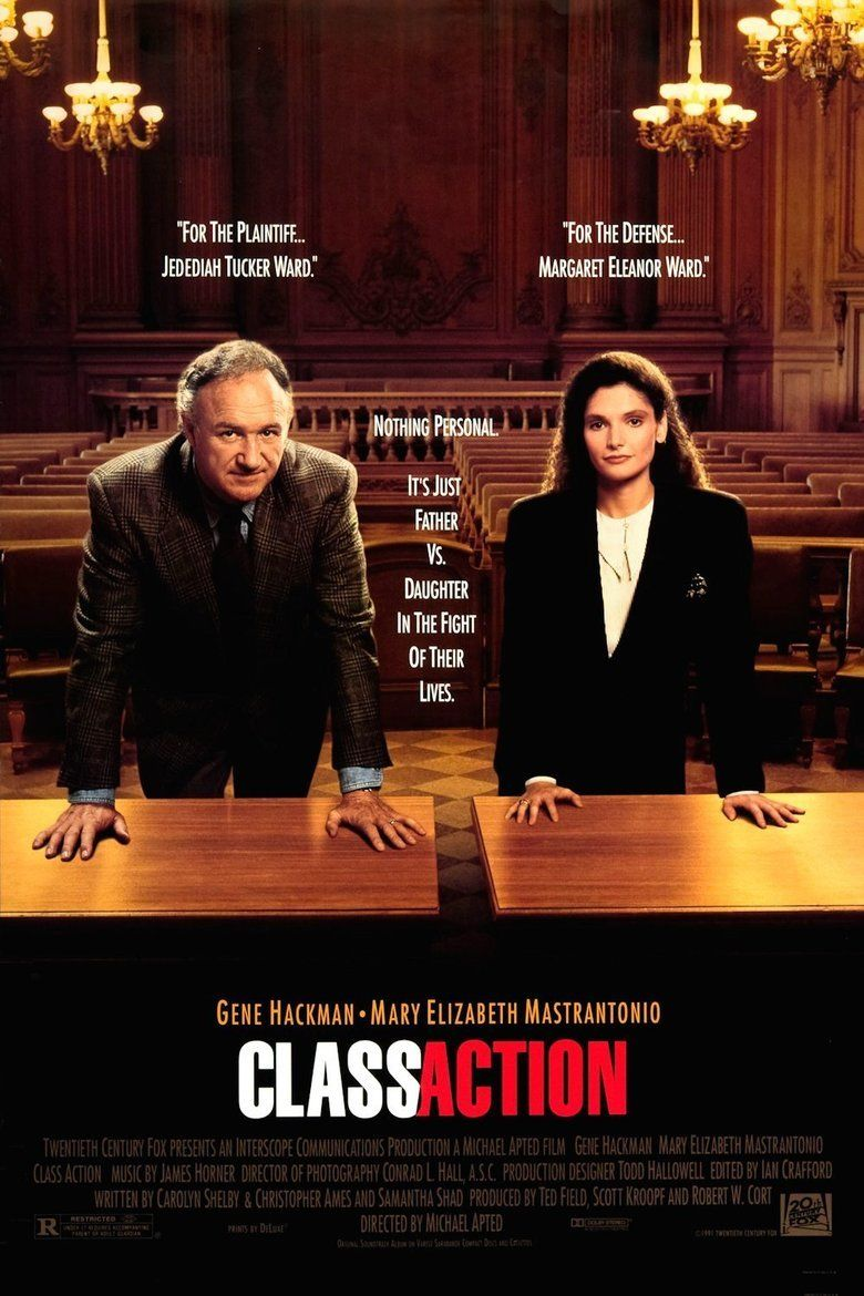 Class Action (film) movie poster