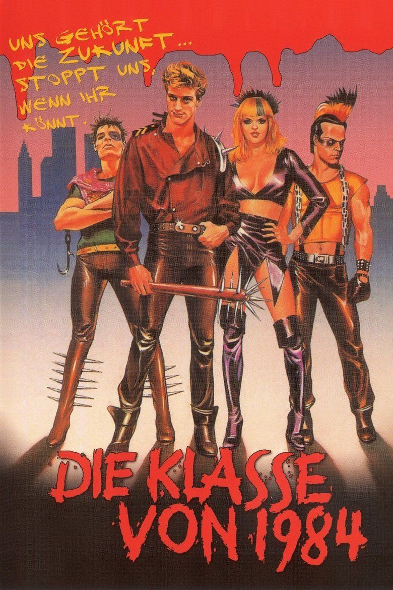 Class of 1984 movie poster