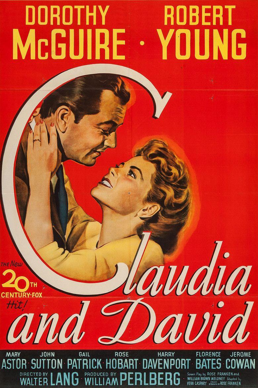 Claudia and David movie poster