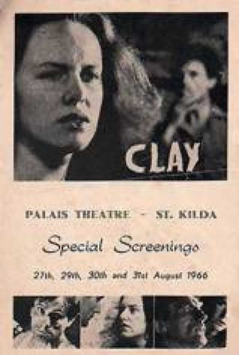 Clay (1965 film) movie poster