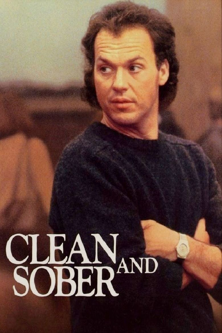 Clean and Sober movie poster