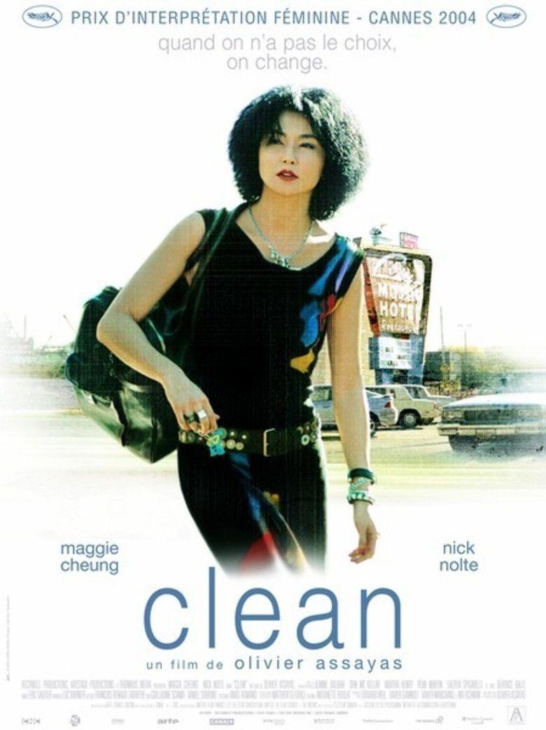 Clean (film) movie poster