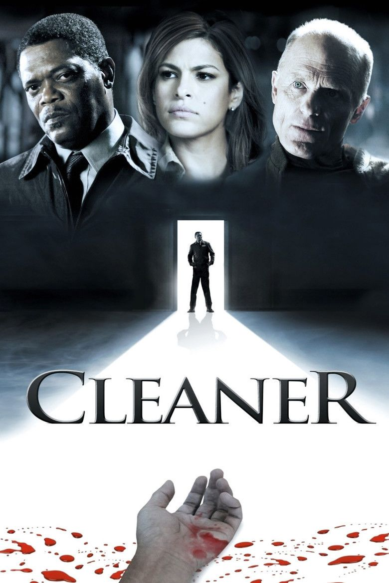 Cleaner (film) movie poster