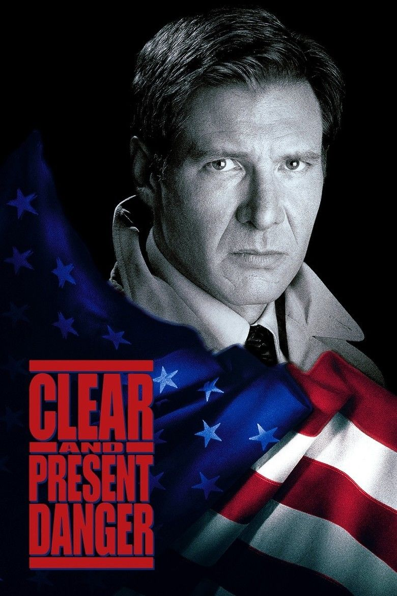 Clear and Present Danger (film) movie poster