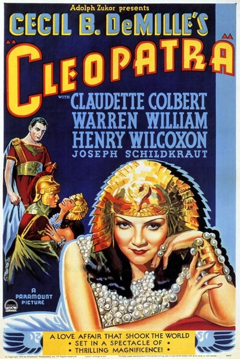 Cleopatra (1934 film) movie poster