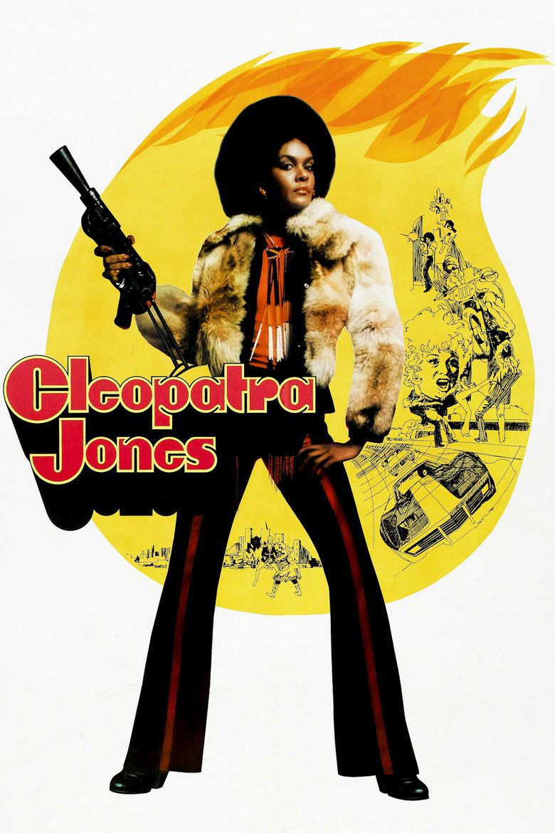 Cleopatra Jones movie poster