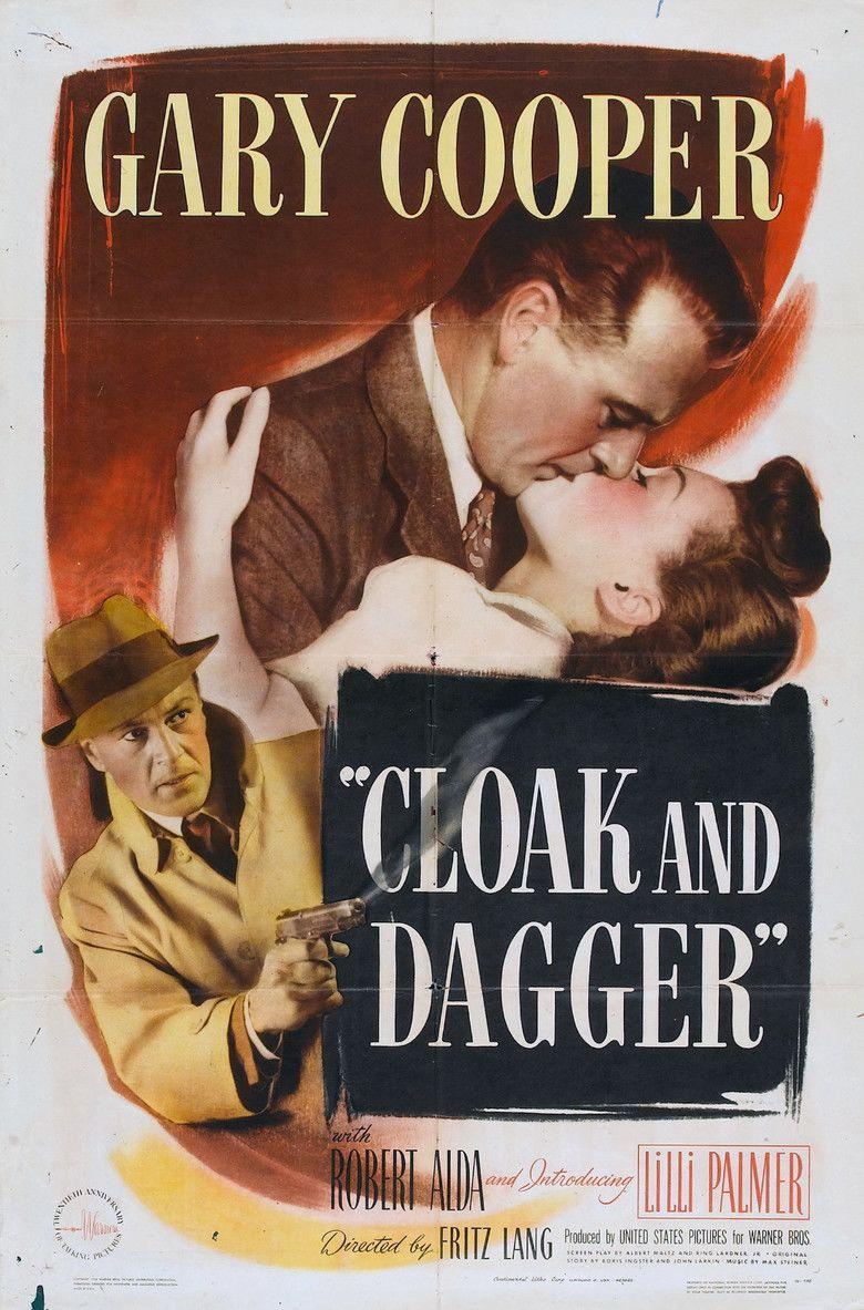 Cloak and Dagger (1946 film) movie poster