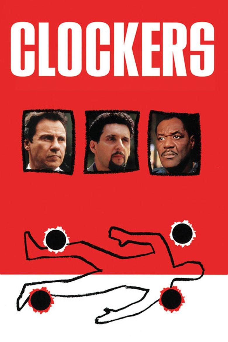 Clockers (film) movie poster