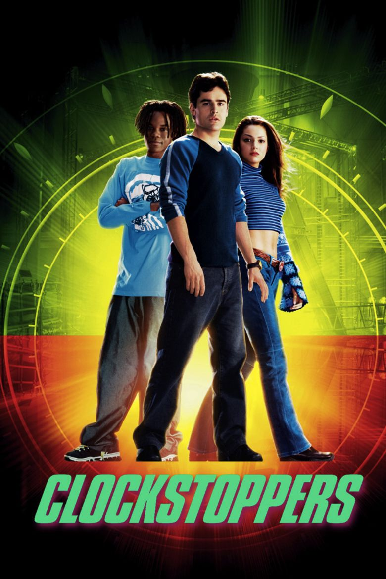Clockstoppers movie poster