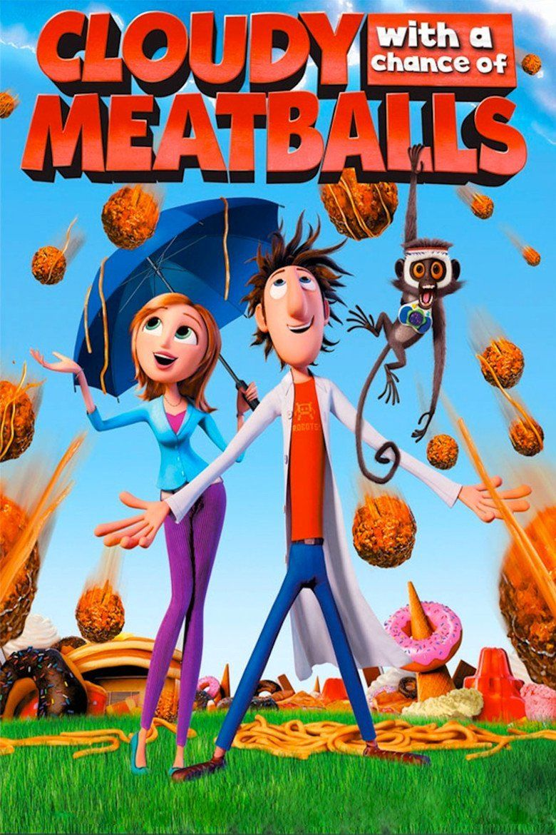 Cloudy with a Chance of Meatballs (film) movie poster