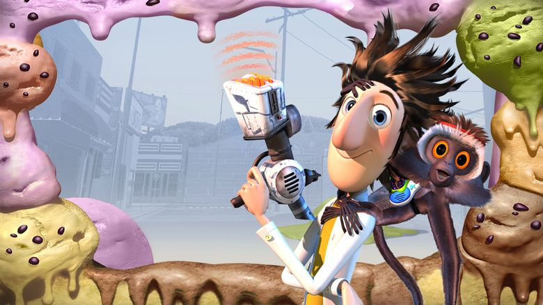 Cloudy with a Chance of Meatballs (film) movie scenes