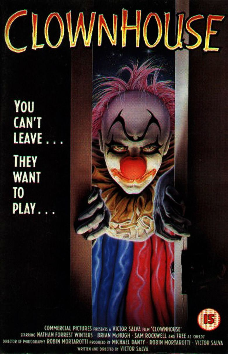 Clownhouse movie poster