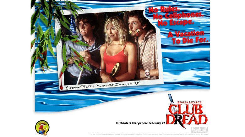 Club Dread movie scenes