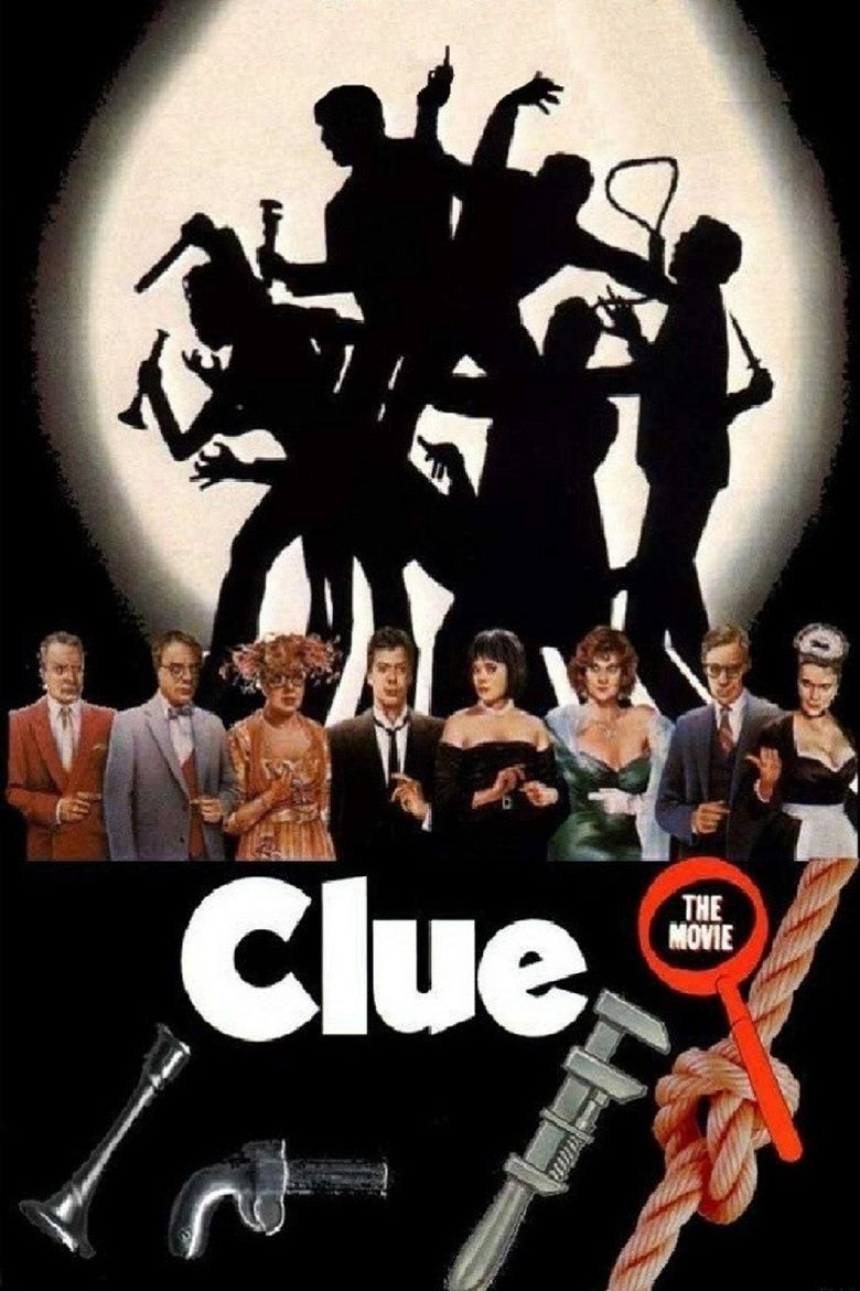 Clue (film) movie poster