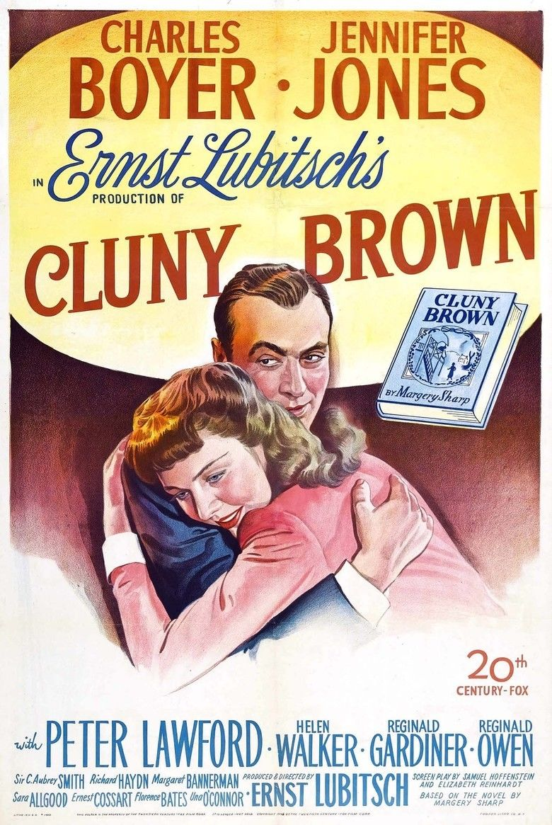 Cluny Brown movie poster