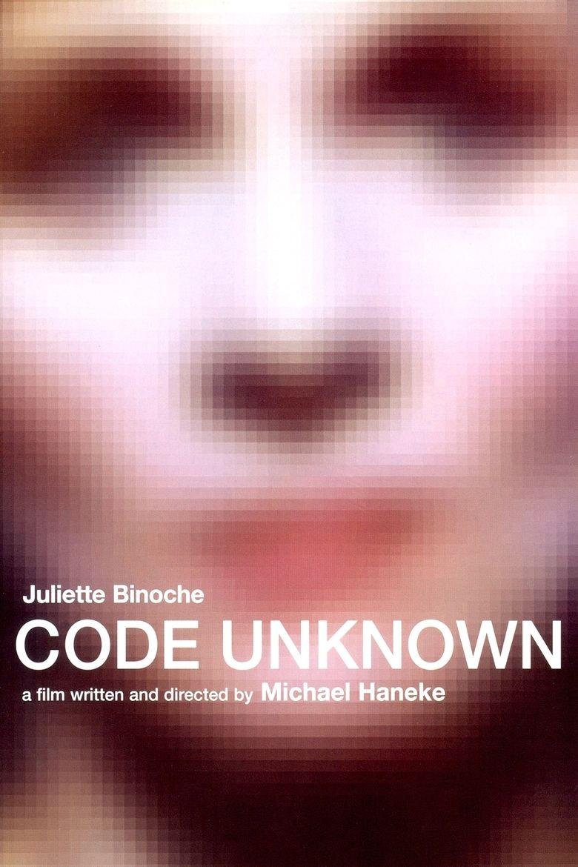 Code Unknown movie poster