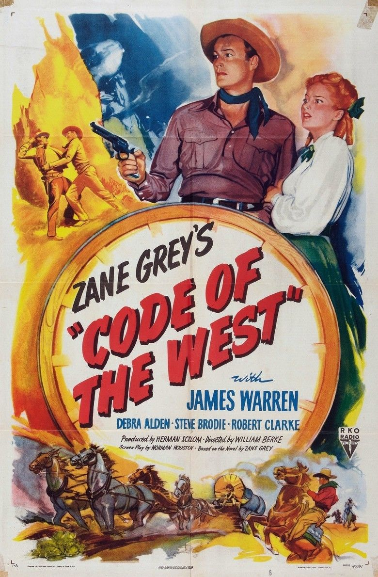 Code of the West (1947 film) movie poster