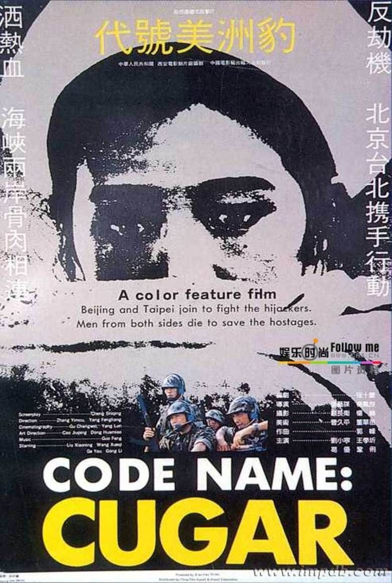 Codename Cougar movie poster