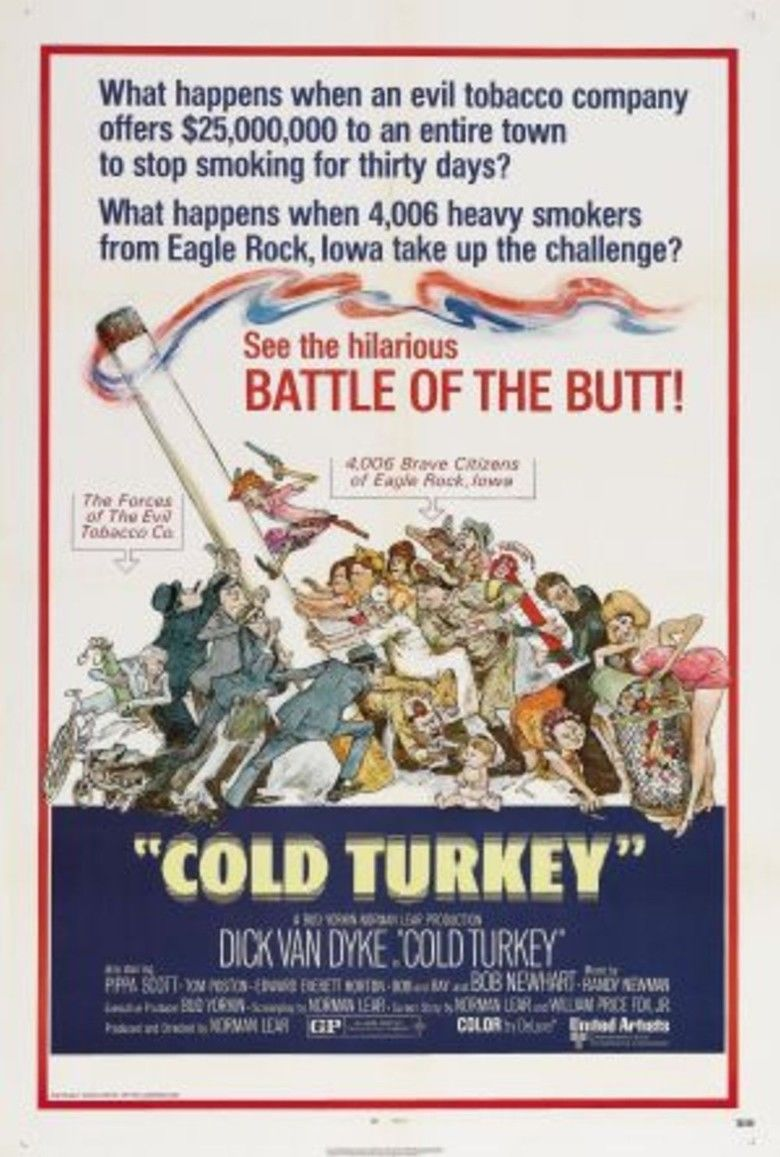 Cold Turkey (film) movie poster