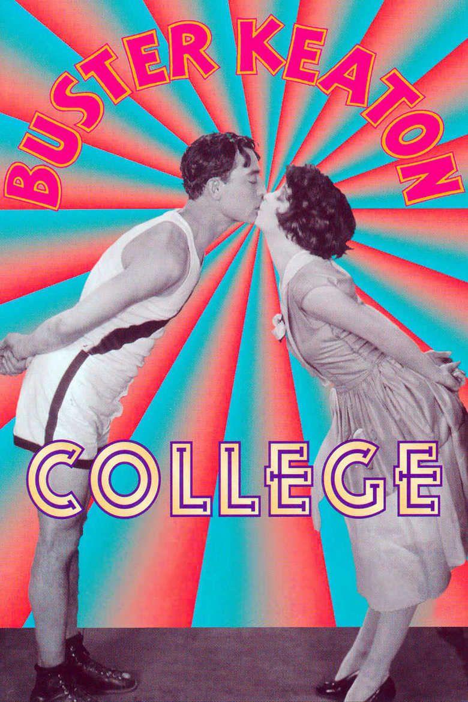 College (1927 film) movie poster