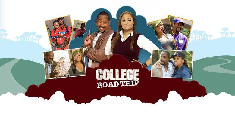 College Road Trip movie scenes