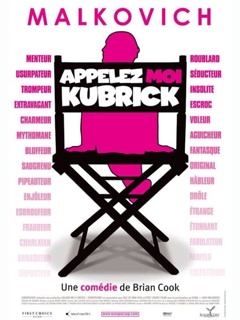 Colour Me Kubrick movie poster