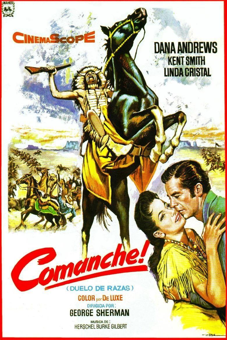 Comanche (1956 film) movie poster