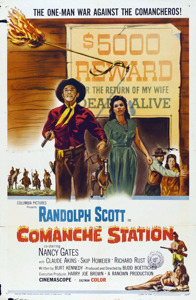 Comanche Station movie poster