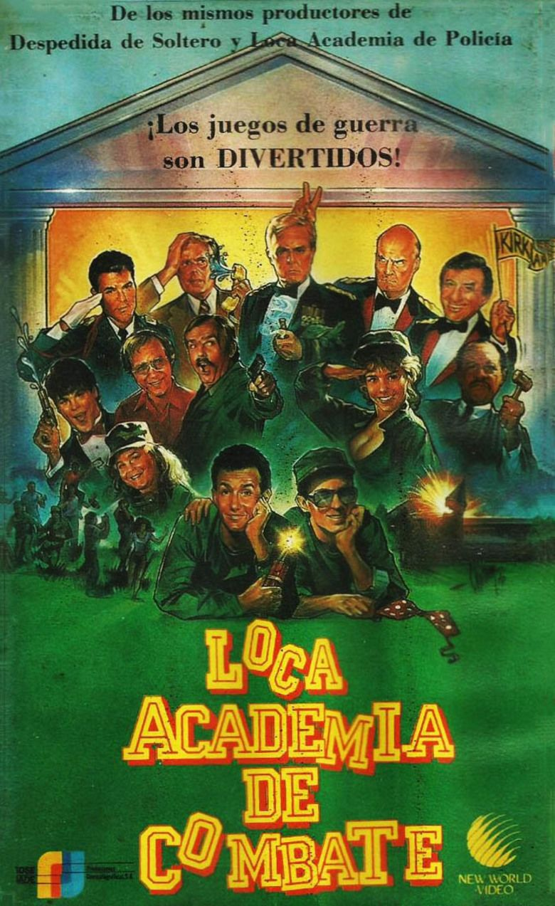 Combat Academy movie poster