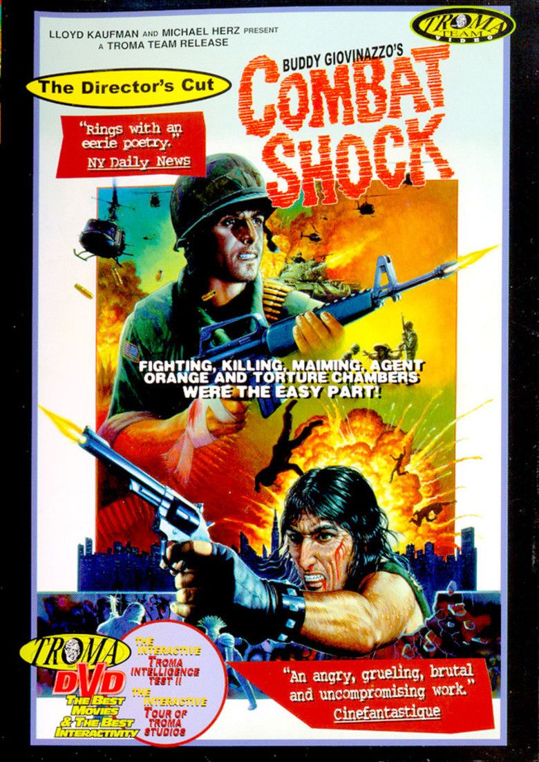 Combat Shock movie poster