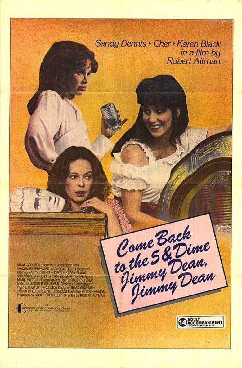 Come Back to the Five and Dime, Jimmy Dean, Jimmy Dean (film) movie poster