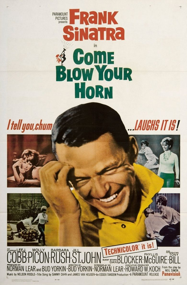 Come Blow Your Horn (film) movie poster