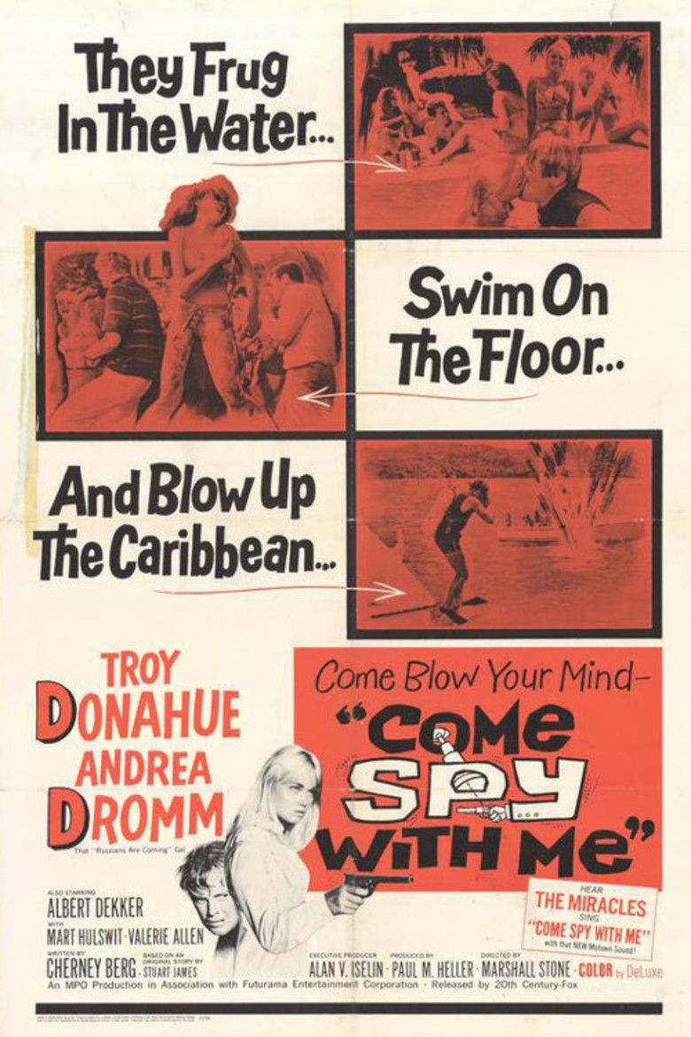 Come Spy with Me (film) movie poster