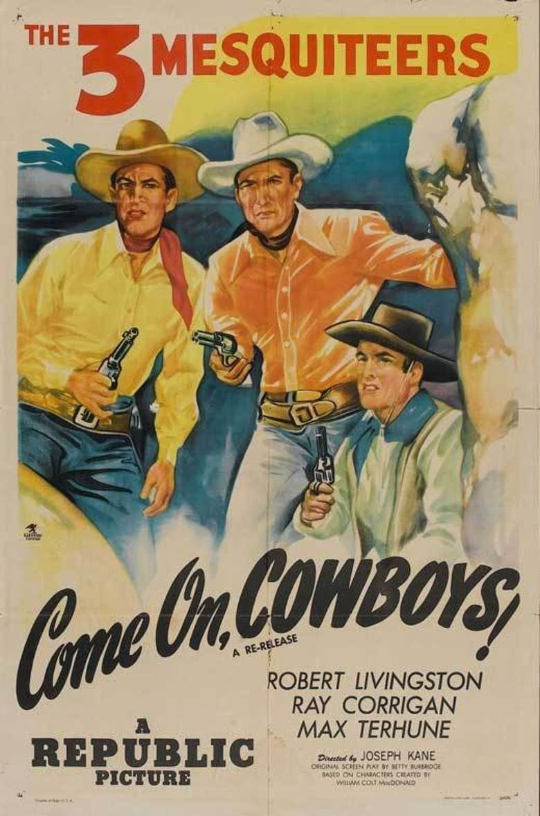 Come on, Cowboys movie poster