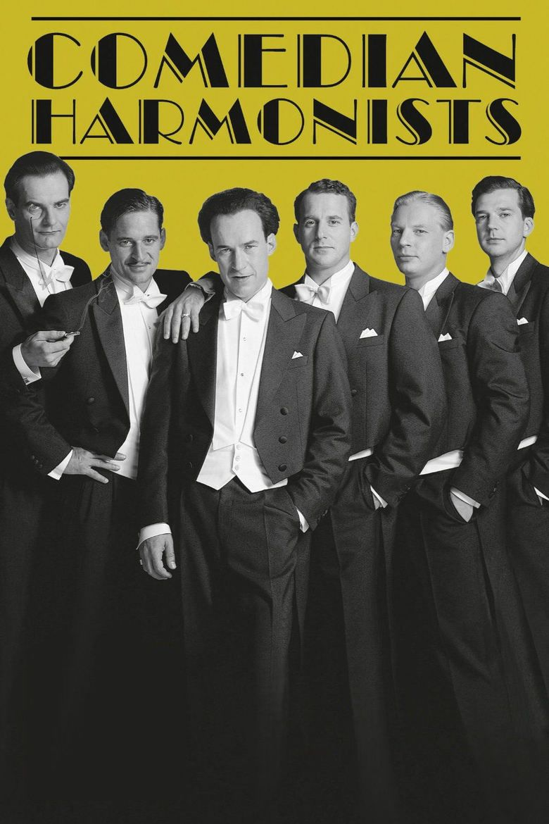 Comedian Harmonists (film) movie poster